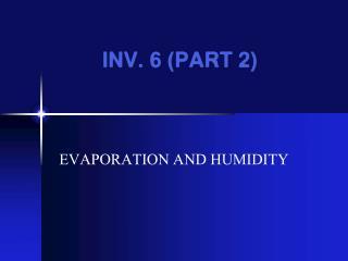 INV. 6 (PART 2)