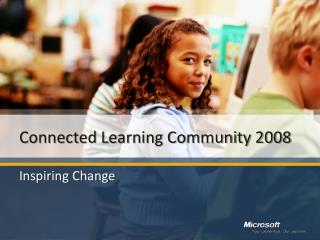 Connected Learning Community 2008