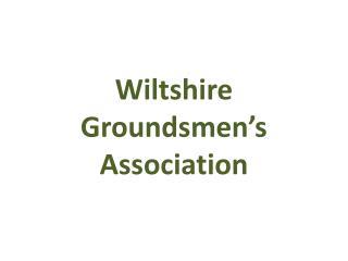 Wiltshire  Groundsmen's  Association