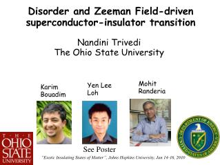 Disorder and Zeeman Field-driven  superconductor-insulator transition