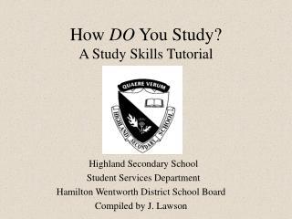 How DO You Study