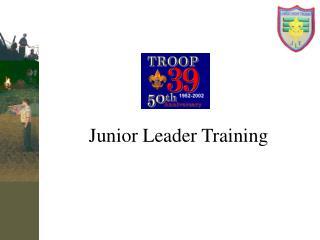 Junior Leader Training