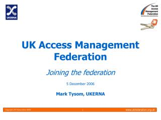 UK Access Management Federation