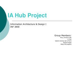 IA Hub Project