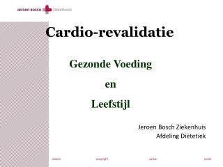 Cardio-revalidatie