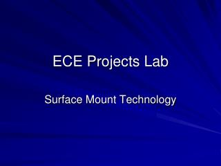 ECE Projects Lab