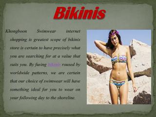 The Fabulous Collection of Bikinis for Beaches