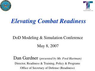 Elevating Combat Readiness