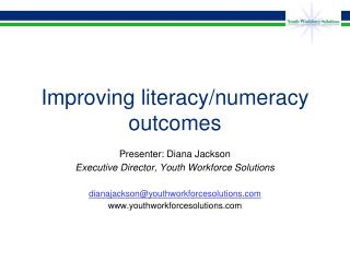 Improving literacy