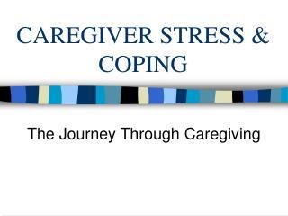 CAREGIVER STRESS  COPING