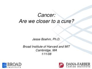 Cancer: Are we closer to a cure?