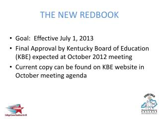 THE NEW REDBOOK