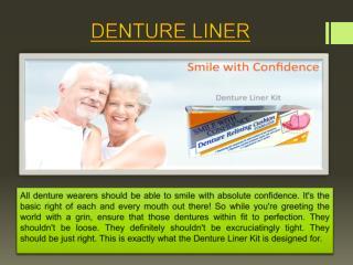Denture Liner kit