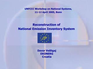 Reconstruction of  National Emission Inventory System