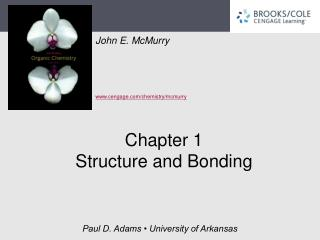 Chapter 1 Structure and Bonding