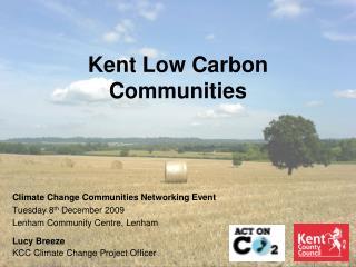 Kent Low Carbon Communities