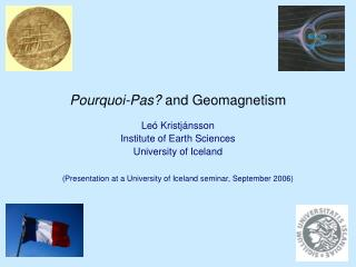 Pourquoi-Pas and Geomagnetism