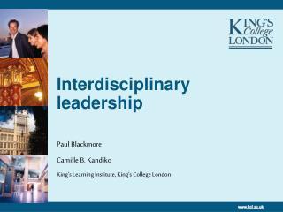 Interdisciplinary leadership