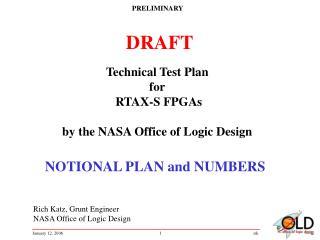 Rich Katz, Grunt Engineer NASA Office of Logic Design