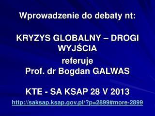 Episteme 103, Wydział Filozofii Chrześcijańskiej UKSW,  Łomża – Warszawa 2011, ss. 268..