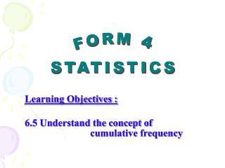 FORM 4 STATISTICS
