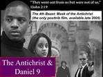 The Antichrist  Daniel 9