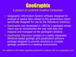 GeoGraphix A product of Landmark Graphics Corporation