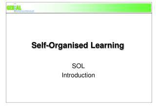 Self-Organised Learning