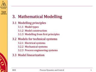 3.Mathematical Modelling
