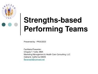 Strengths-based Performing Teams