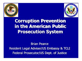 Corruption Prevention  in the American Public Prosecution System