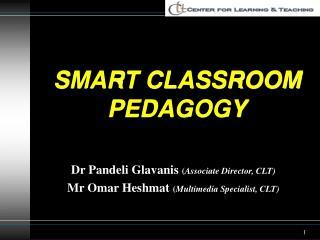 SMART CLASSROOM PEDAGOGY