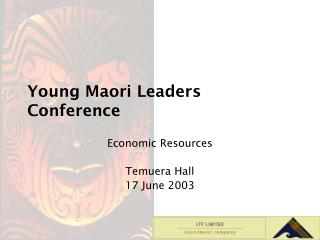 Young Maori Leaders Conference