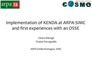 Implementation of KENDA at ARPA-SIMC and first experiences with an OSSE