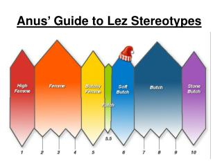 Anus' Guide to Lez Stereotypes
