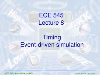 Timing Event-driven simulation