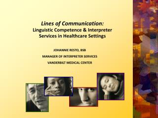 Lines of Communication:  Linguistic Competence & Interpreter Services in Healthcare Settings