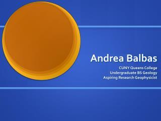 Andrea Balbas