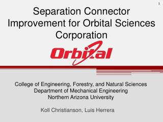 Separation Connector Improvement for Orbital Sciences Corporation