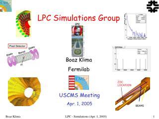 LPC Simulations Group