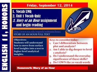 Friday , September  12,  2014