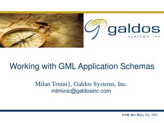 Working with GML Application Schemas