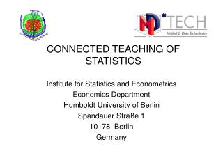 CONNECTED TEACHING OF STATISTICS