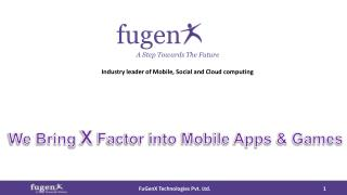 FuGenX-Mobile Apps Development Company