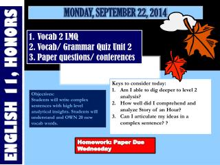 Monday, September 22, 2014