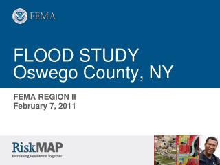 FLOOD STUDY Oswego County, NY