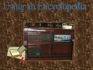Using an Encyclopedia
