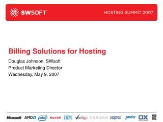 Billing Solutions for Hosting