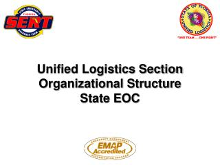 Unified Logistics Section Organizational Structure State EOC