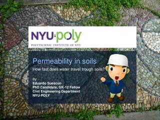 Permeability in soils